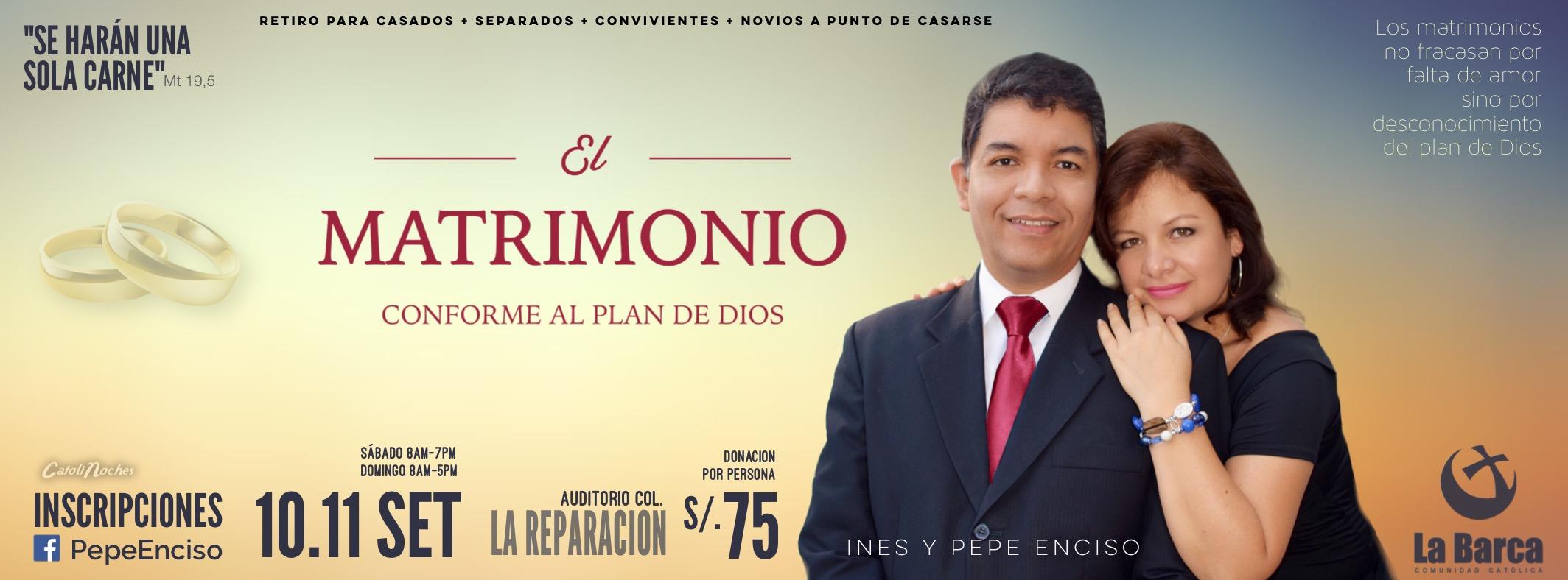 El Matrimonio Conforme al Plan de Dios